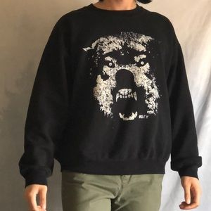 OBEY - M - Black Graphic sweater